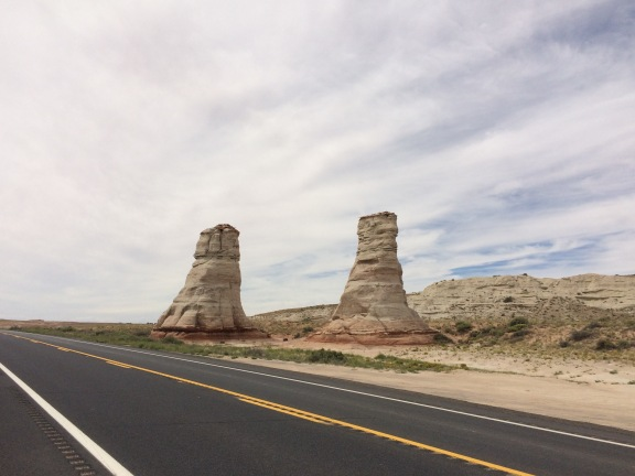 Rock Spires - Prelude to Monument Valley