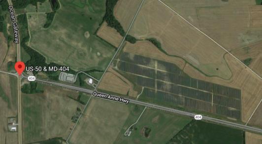 Solar Array on 404 near 50
